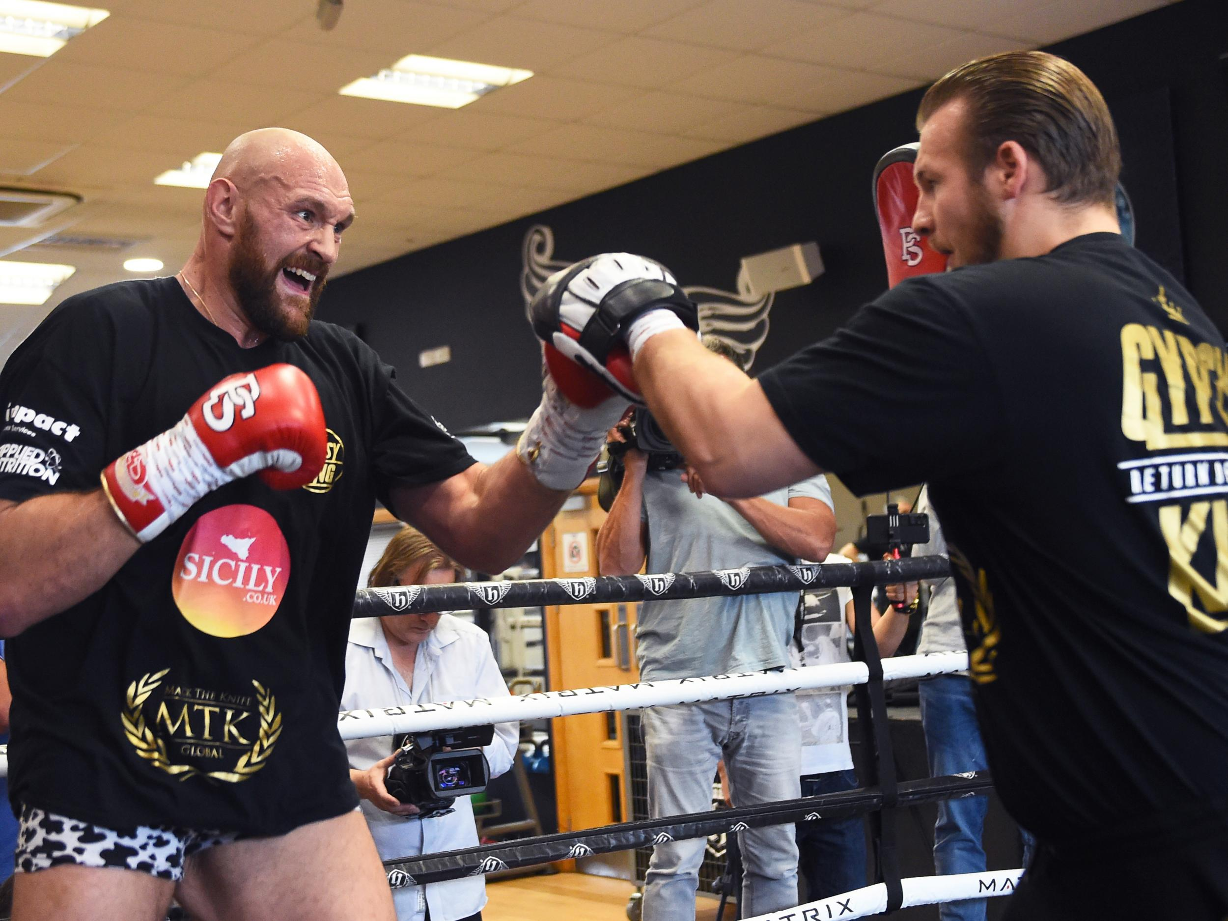 How Tyson Fury teamed up with an unknown trainer to turn his life