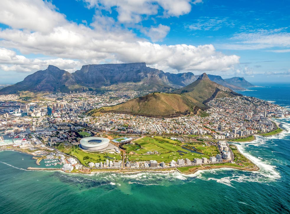 South Africa's Cape Town has beaches and national parks