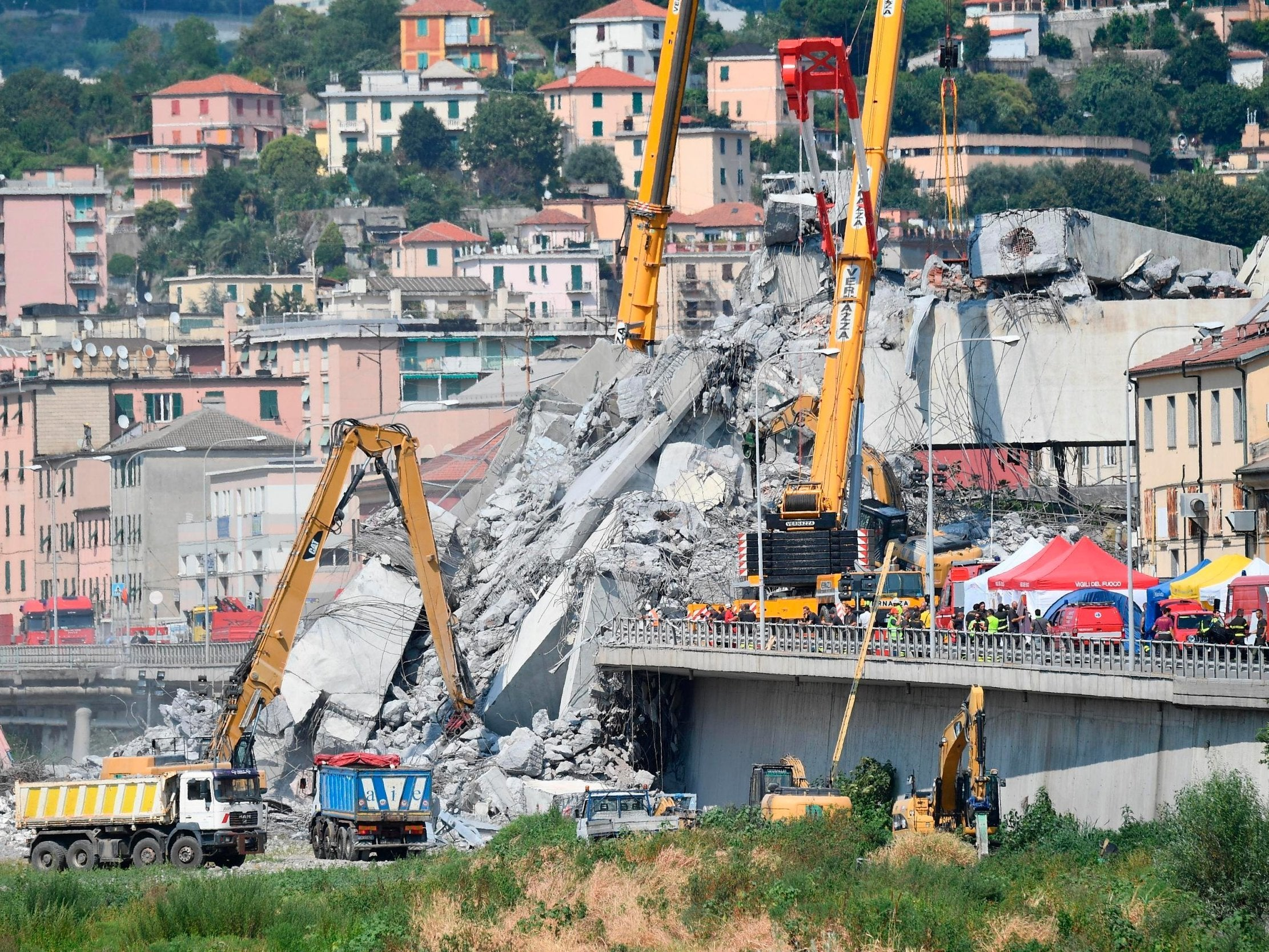 Genoa bridge collapse: Creaking noises prompt alarm among