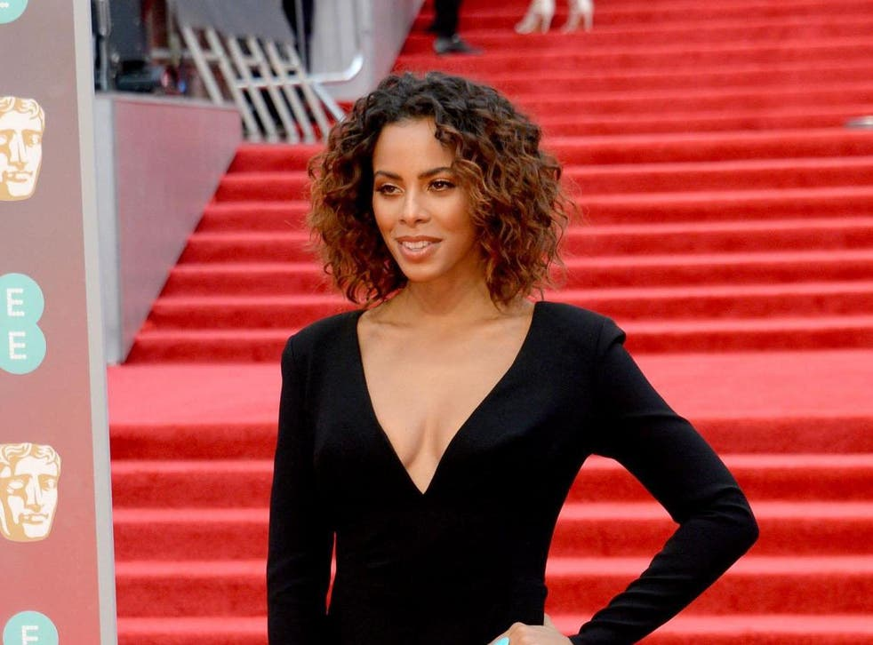 Rochelle Humes opted for a hair designer who has no dark-skinned models