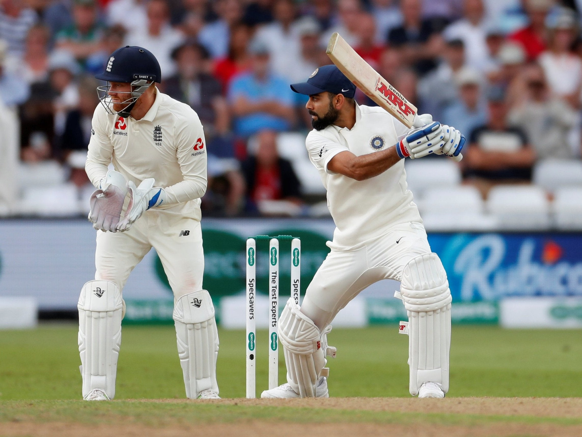 India Frustrate England Into Playing Their Game Virat Kohli Picks His Targets Why Debutant Rishabh Pant Holds The Key The Independent The Independent