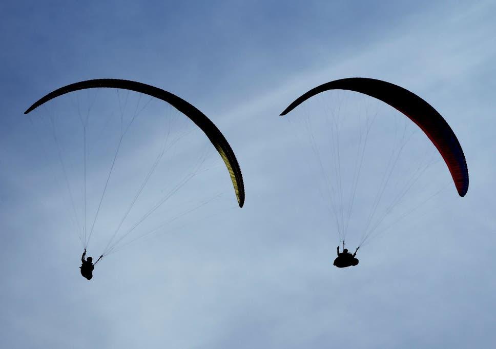 Innes Powell: British paraglider, 54, dies after crashing with