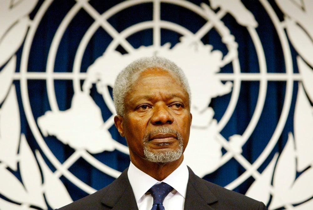 Kofi Annan – 2005