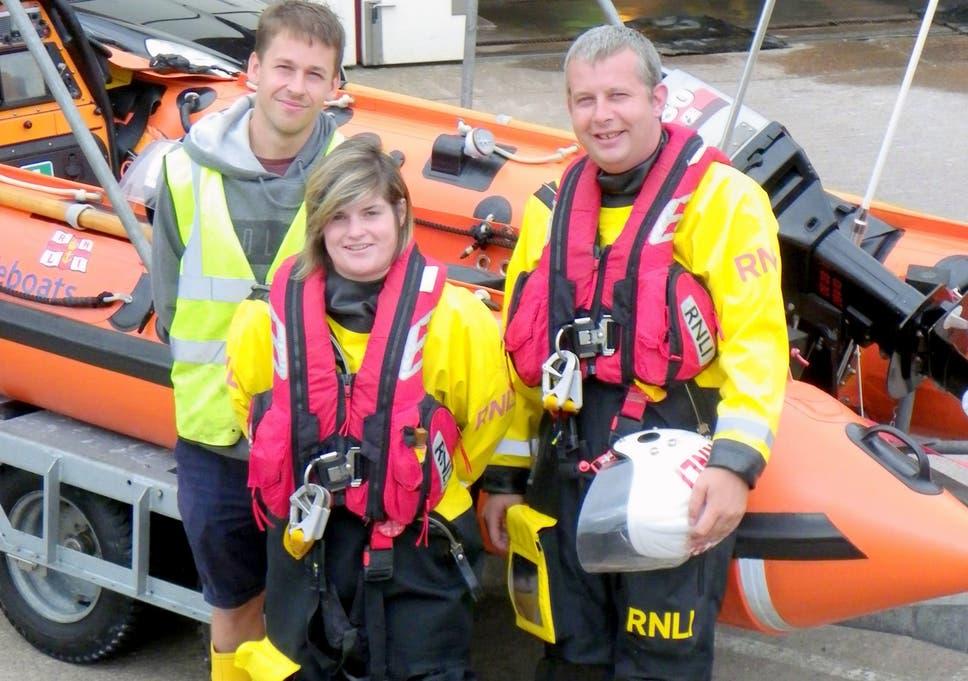 Minehead welcomes first female lifeboat skipper in 117 years