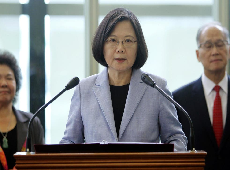 Taiwan president Tsai Ing-wen visited Houston and Los Angeles last week, where she met US lawmakers