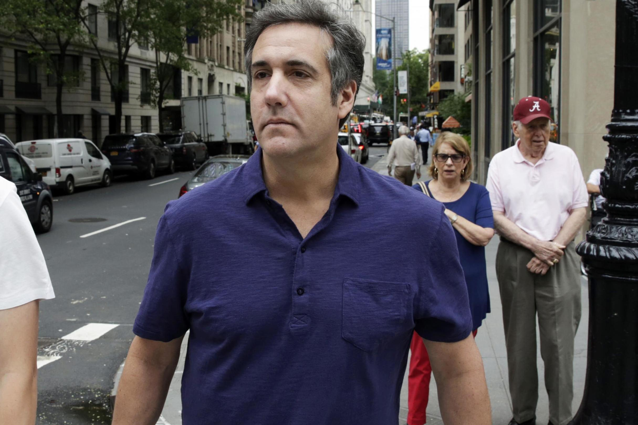 Michael Cohen hit with subpoena in Trump Foundation investigation