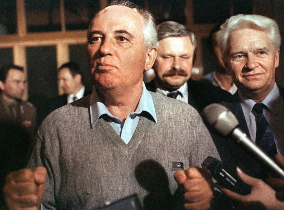 Gorbachev: international statesman or destroyer of a noble ideology?