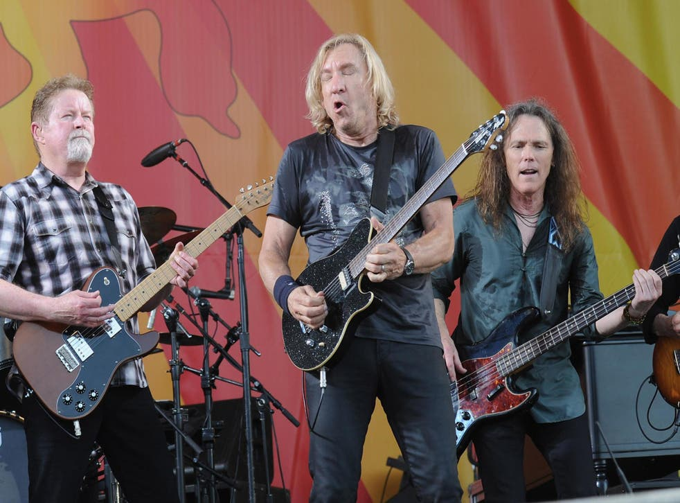 The Eagles have the number one best-selling album of all time (Getty)