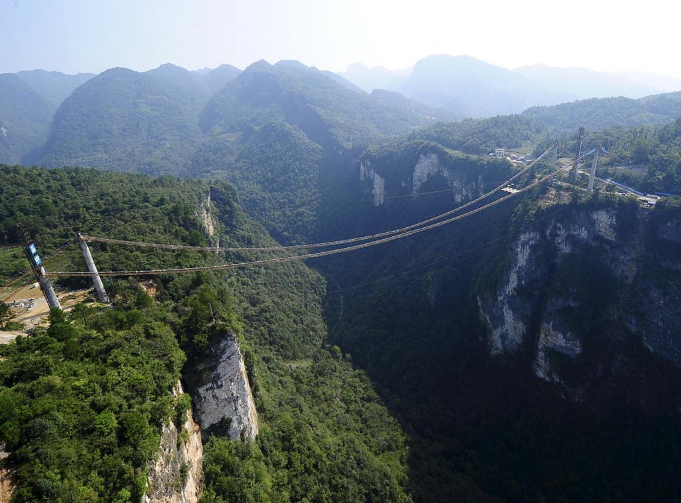 Tang Gongwei bought a train ticket to Zhangjiajie, a popular tourist spot in central China that many compare to the film Avatar
