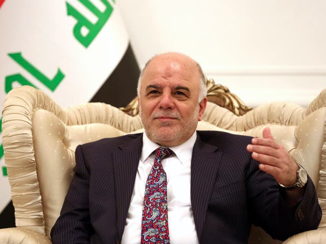 Related video: Haider al-Abadi, then Iraqi prime minister, hails 'big victory' over Isis in Mosul in July 2017