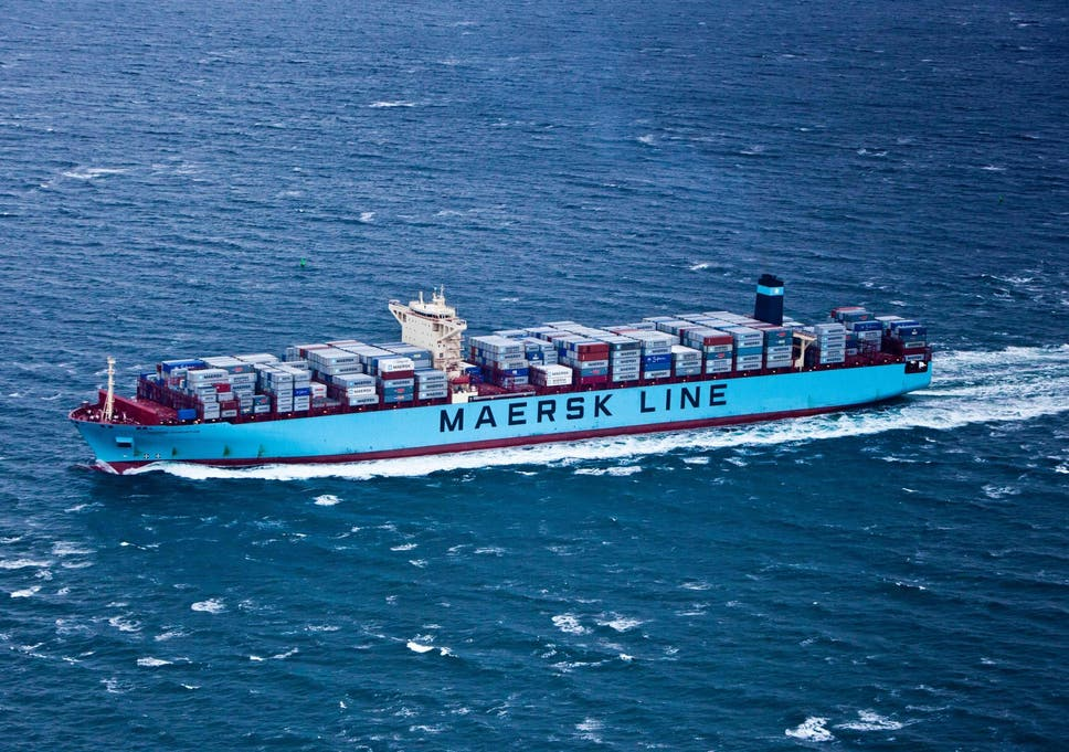 Maersk launches first container ship through Arctic route in