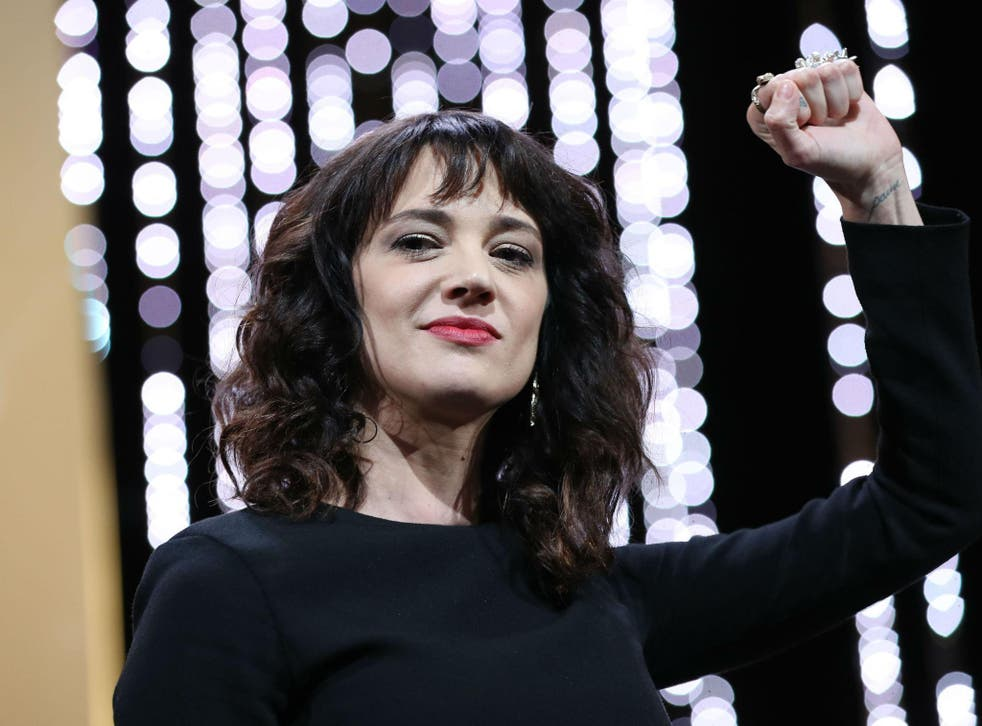 Asia Argento said that she 'never had any sexual relationship with Bennett'