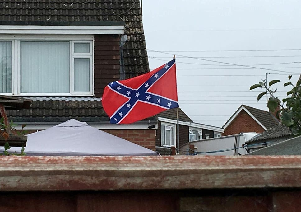 Man Forced To Take Down Racist Confederate Flag From Cheltenham