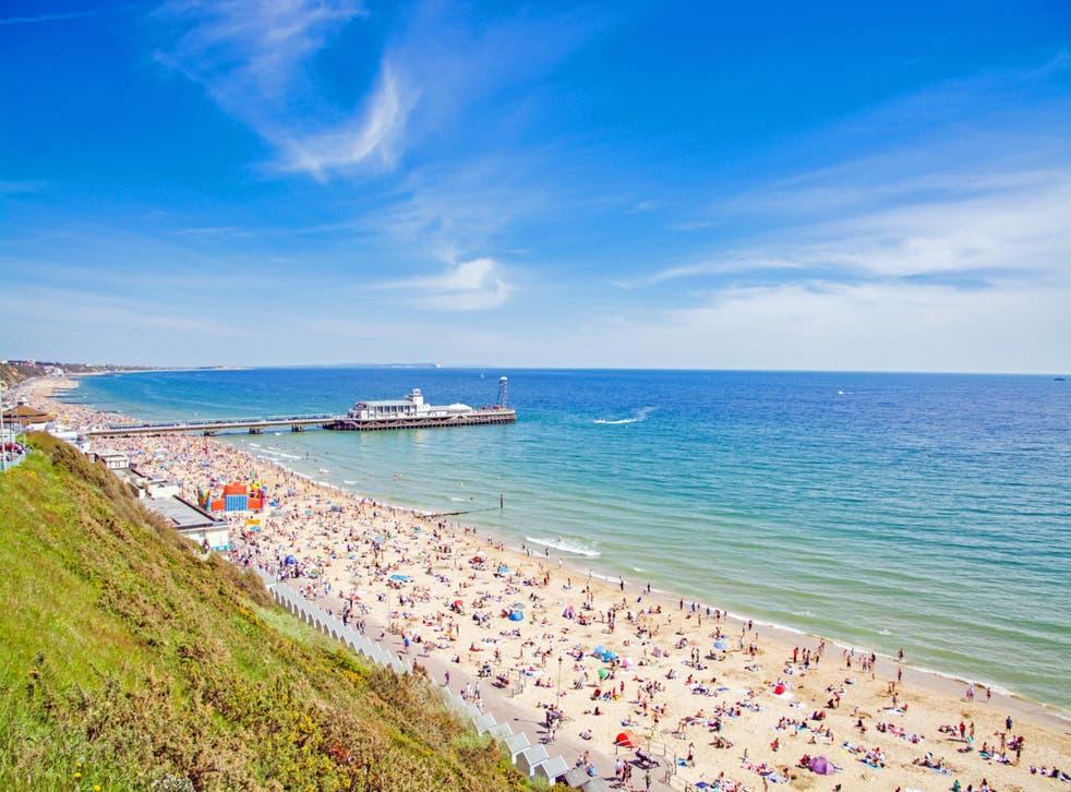 Bournemouth has 10 miles of sandy beach