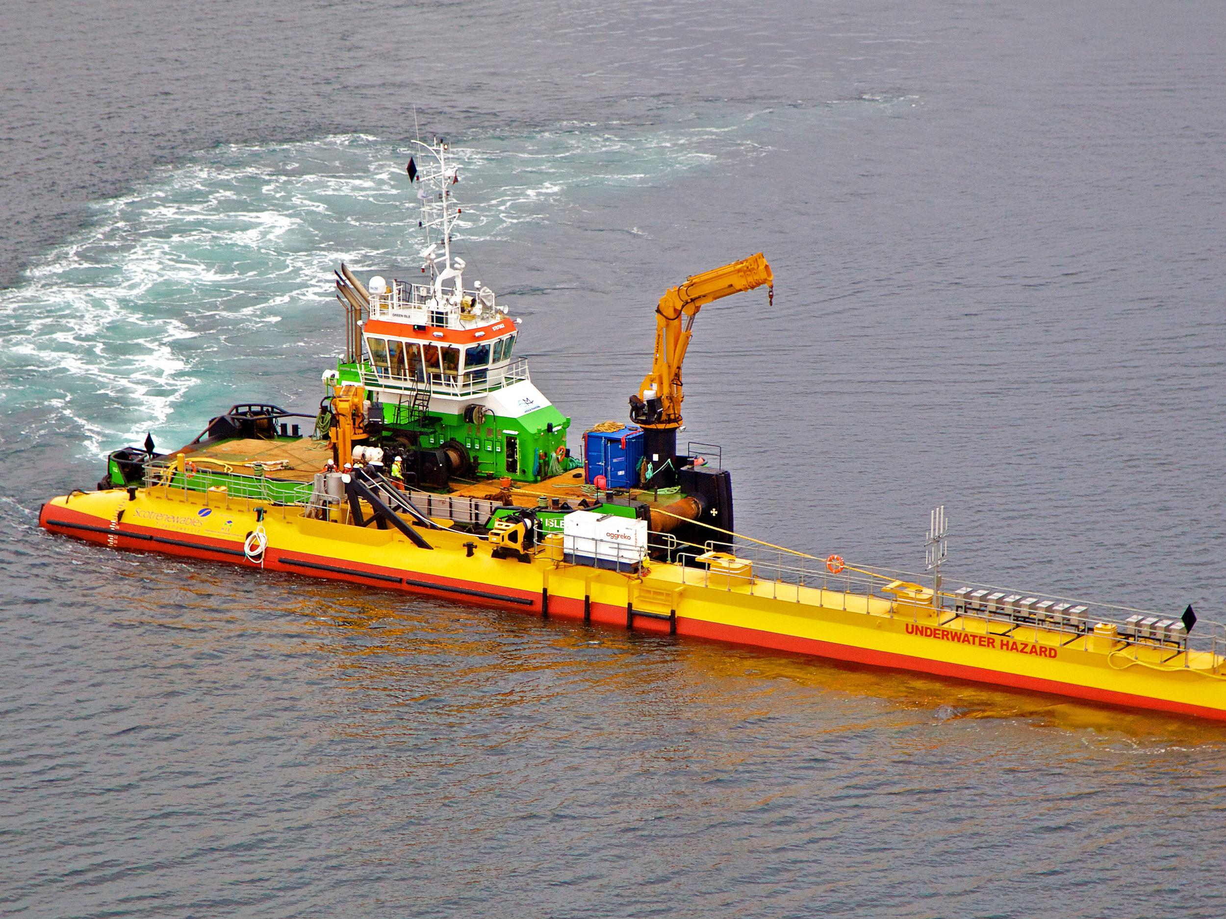 Scotland's floating turbine smashes tidal renewable energy records