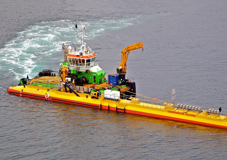Scotland's floating turbine smashes tidal renewable energy records
