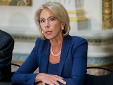 Special Education Chiefs To Devos Dont >> Trump Officials To Roll Back Obama Era School Policies Which Protect