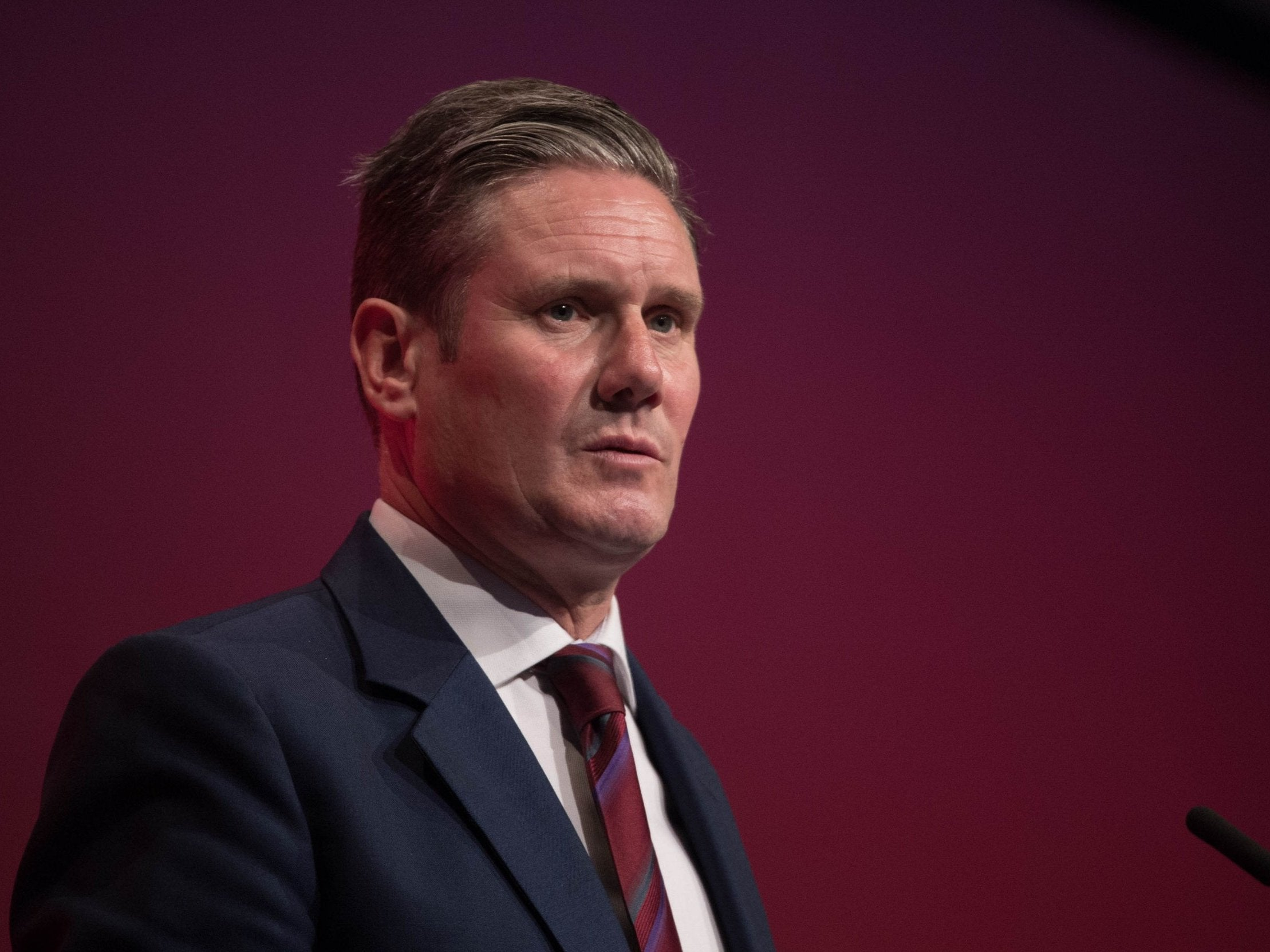 Brexit: Supporting the work for a new referendum will only be an option if Theresa May rejects our plan, says Keir Starmer - The Independent