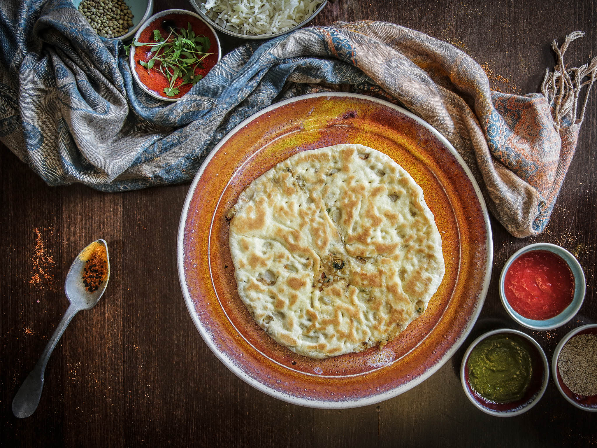 How to make Romy Gill's aloo paratha