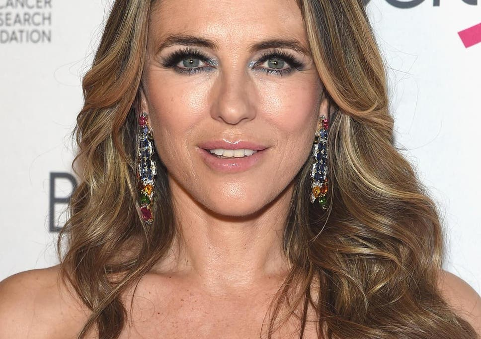 9997b71b87 Elizabeth Hurley's attempt to 'swim off the calories' labelled ...