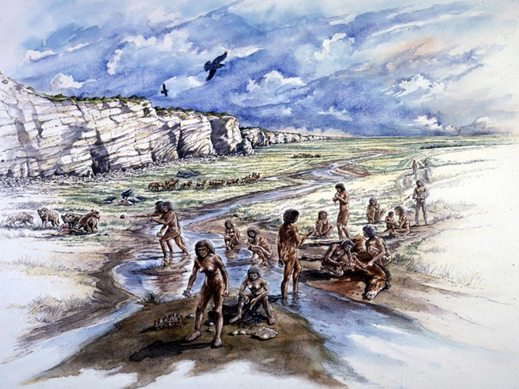 Stone Age treasures unearthed in Sussex offer extraordinary insight into evolution of human intelligence