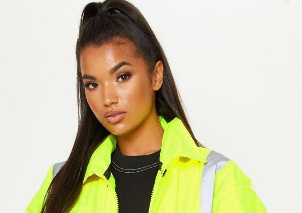 681b81643c4 Pretty Little Thing customers mock hi-vis 'statement jacket' available for  £45