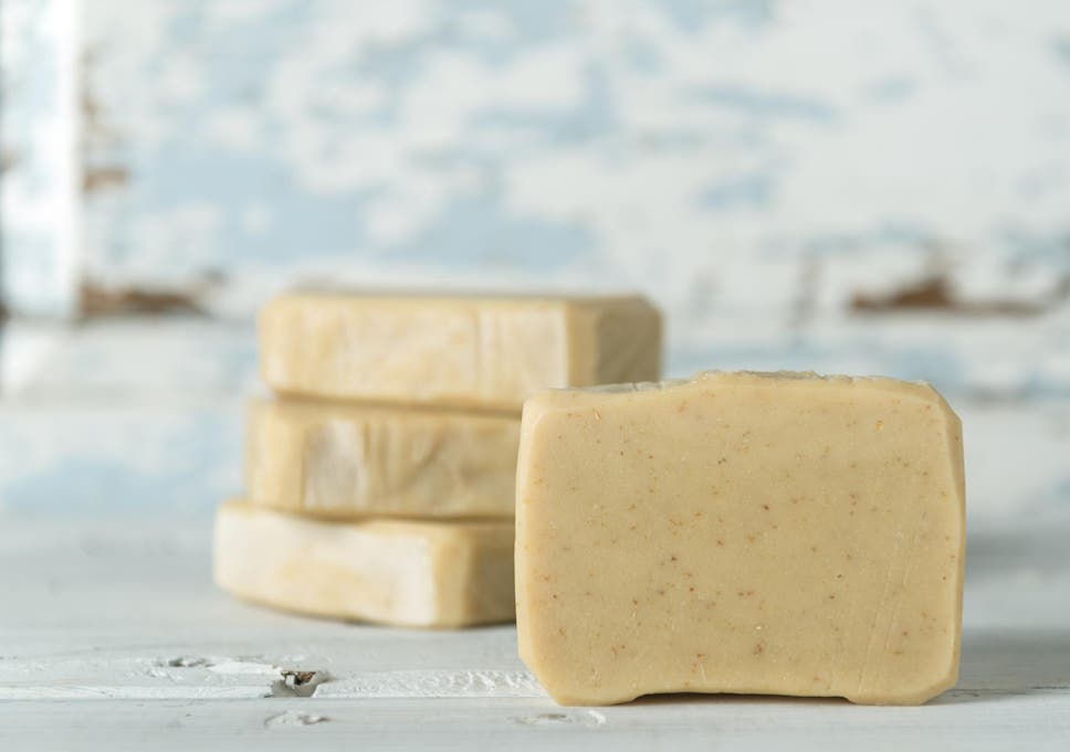 Many shampoo bars are made of natural ingredients