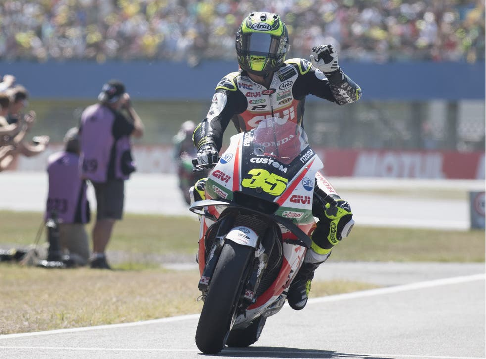 Crutchlow made history two years ago in Brno and is hoping to do so again at Silverstone