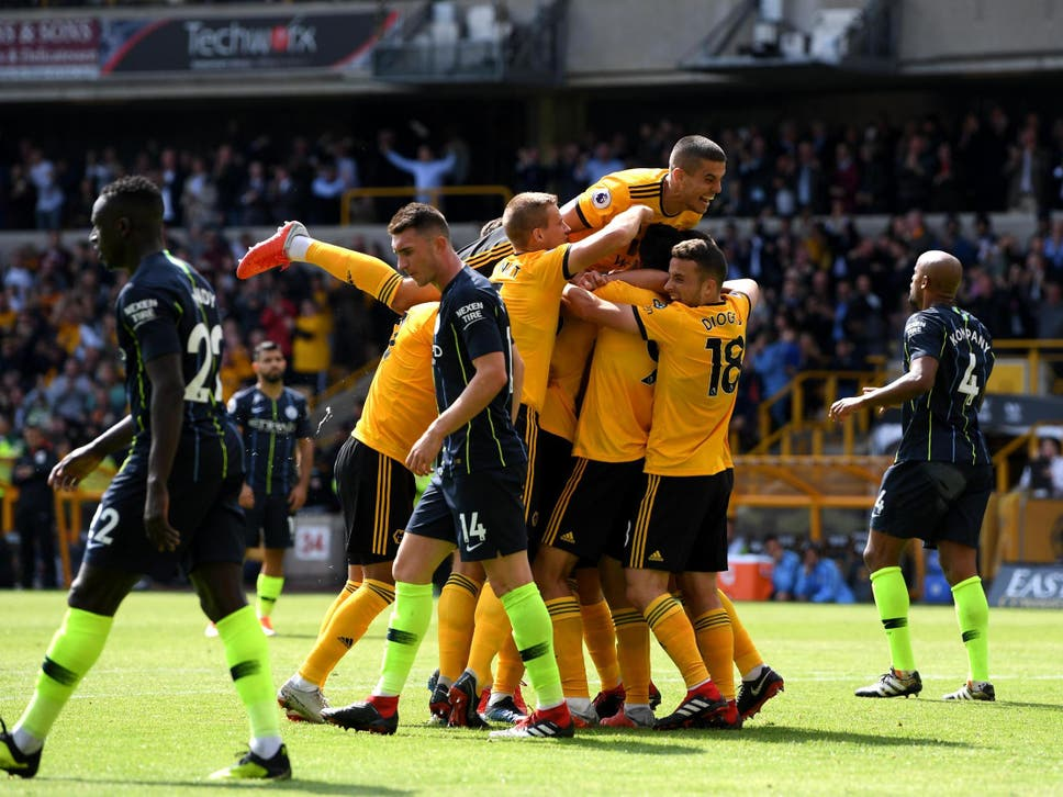 Image result for wolves 1-1 man city