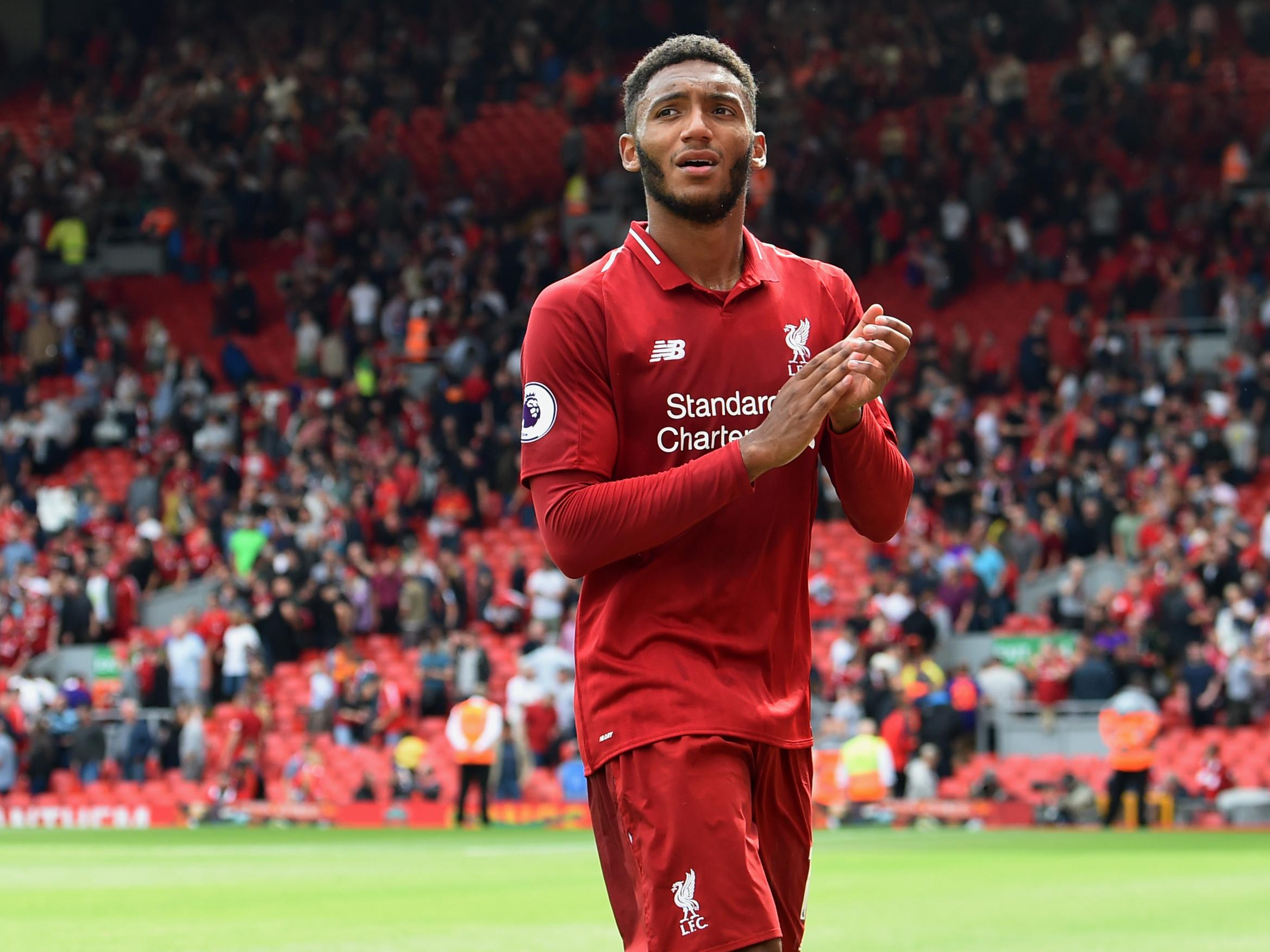 Image result for joe gomez