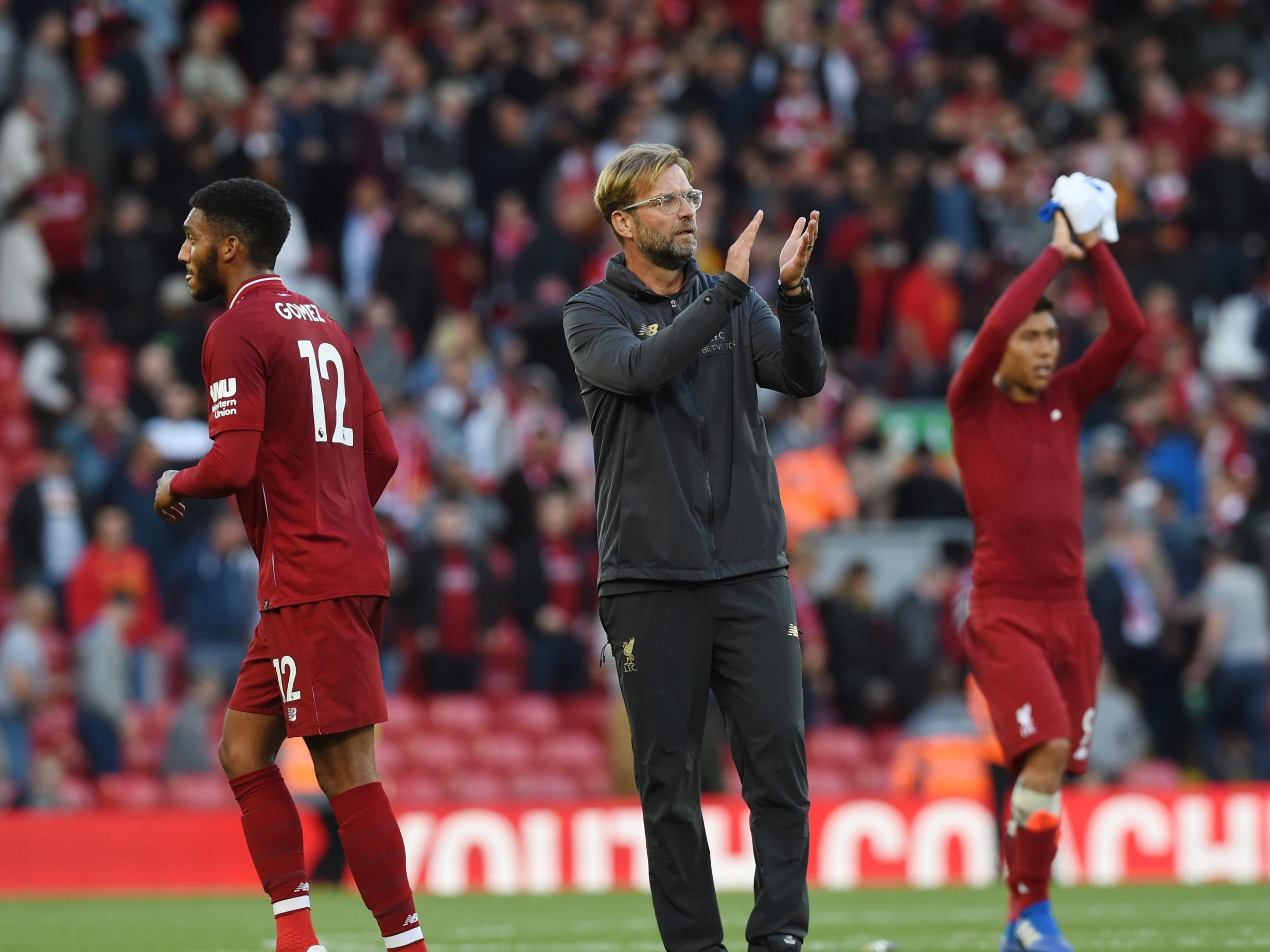Jurgen Klopp says Liverpool 'have a lot more to do' after Brighton win