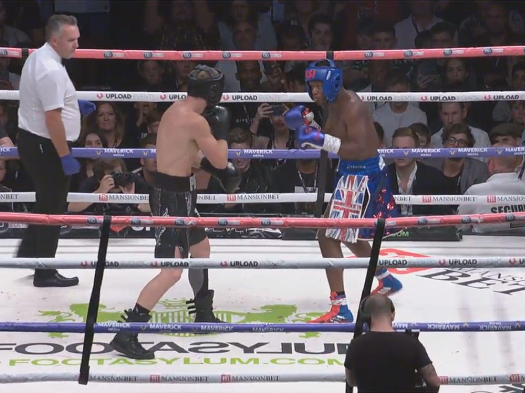 KSI vs Logan Paul: Battle of YouTube stars ends in draw – as