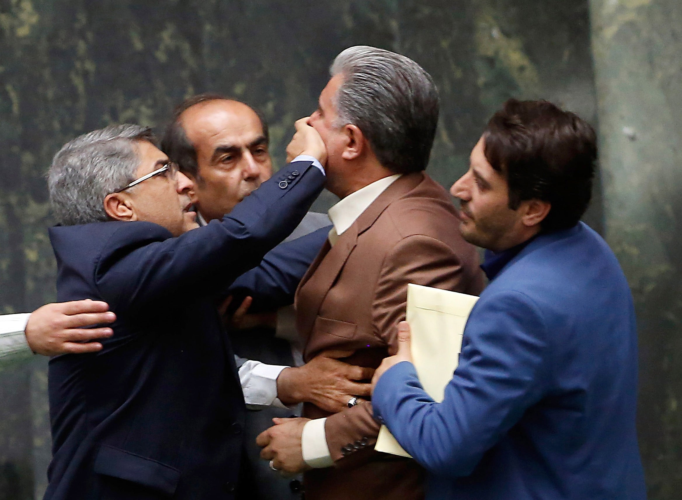 Brawl Breaks Out In Iranian Parliament After Economic And Finance