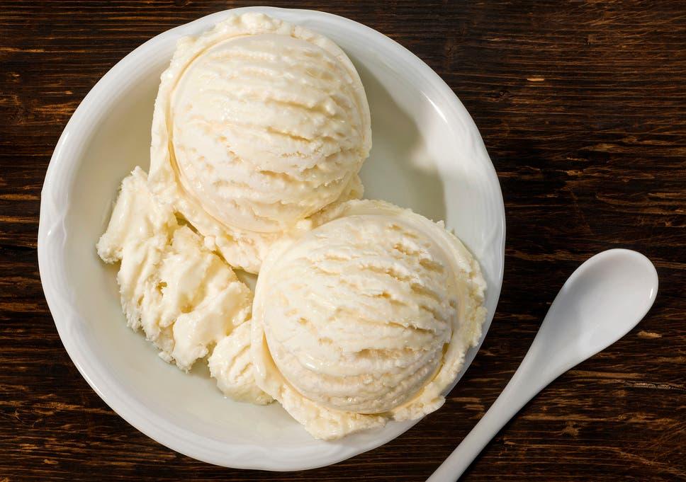 several vanilla ice creams available in supermarkets contain no