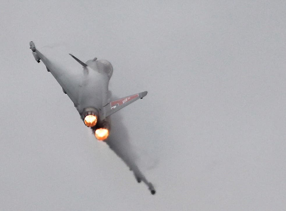 RAF typhoons were launched to intercept a Russian maritime patrol aircraft and two suspected Russian fighter aircraft