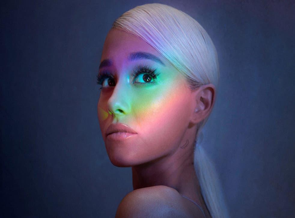 Ariana Grande has achieved her third No.1 album with 'Sweetener'