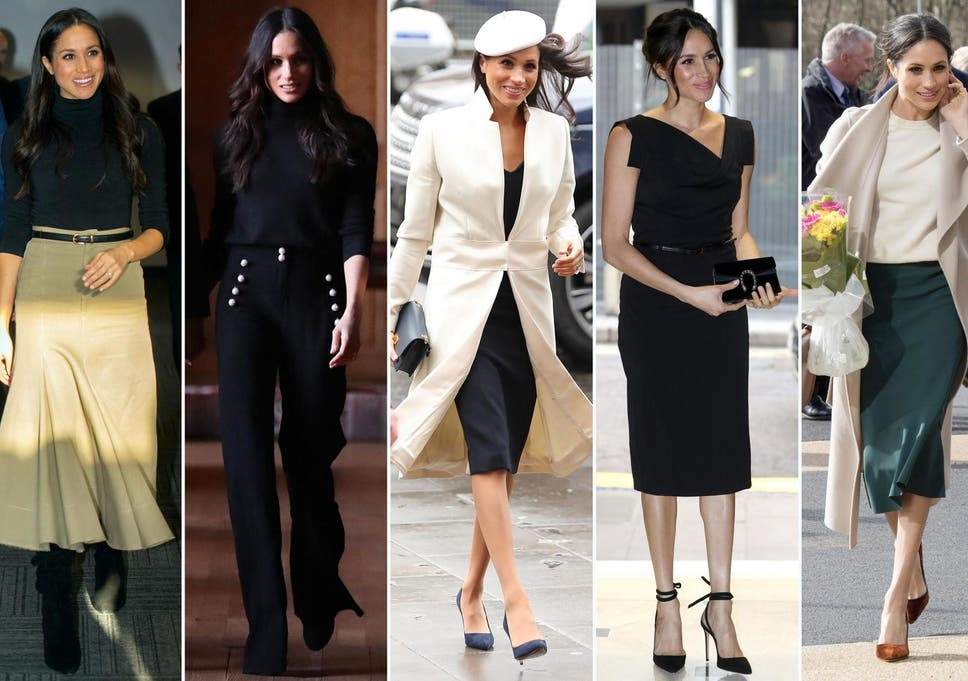 Meghan Markle S Style Muse Revealed By Celebrity Stylist And It S