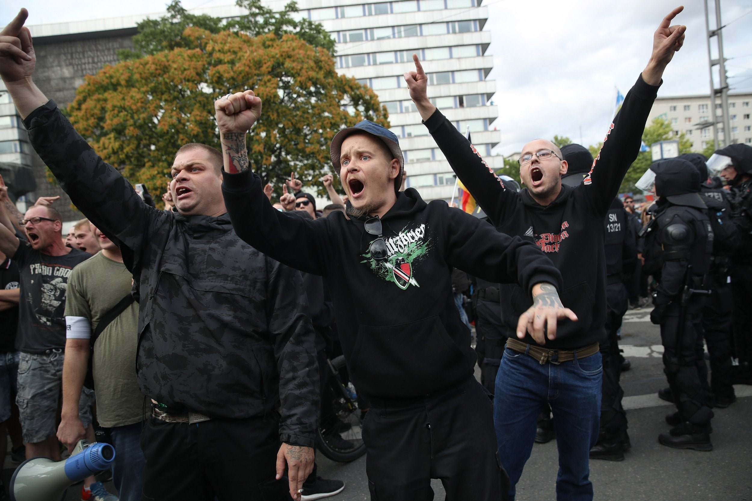 German police shut down far-right music concert after Nazi chants