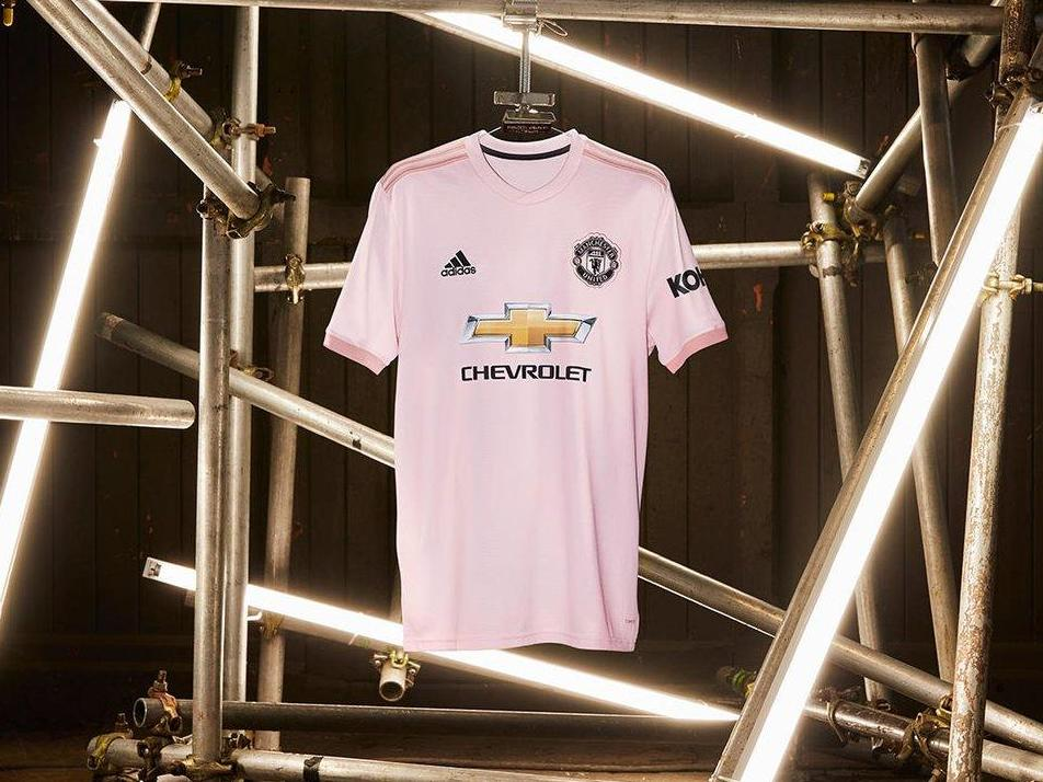 3e0caaea861 Manchester United launch new pink away kit for 2018/19 season | The ...