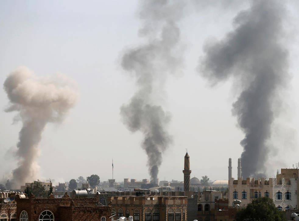 The report specifically mentions the use of airstrikes, which the experts said may violate the principles of distinction, proportionality and precaution