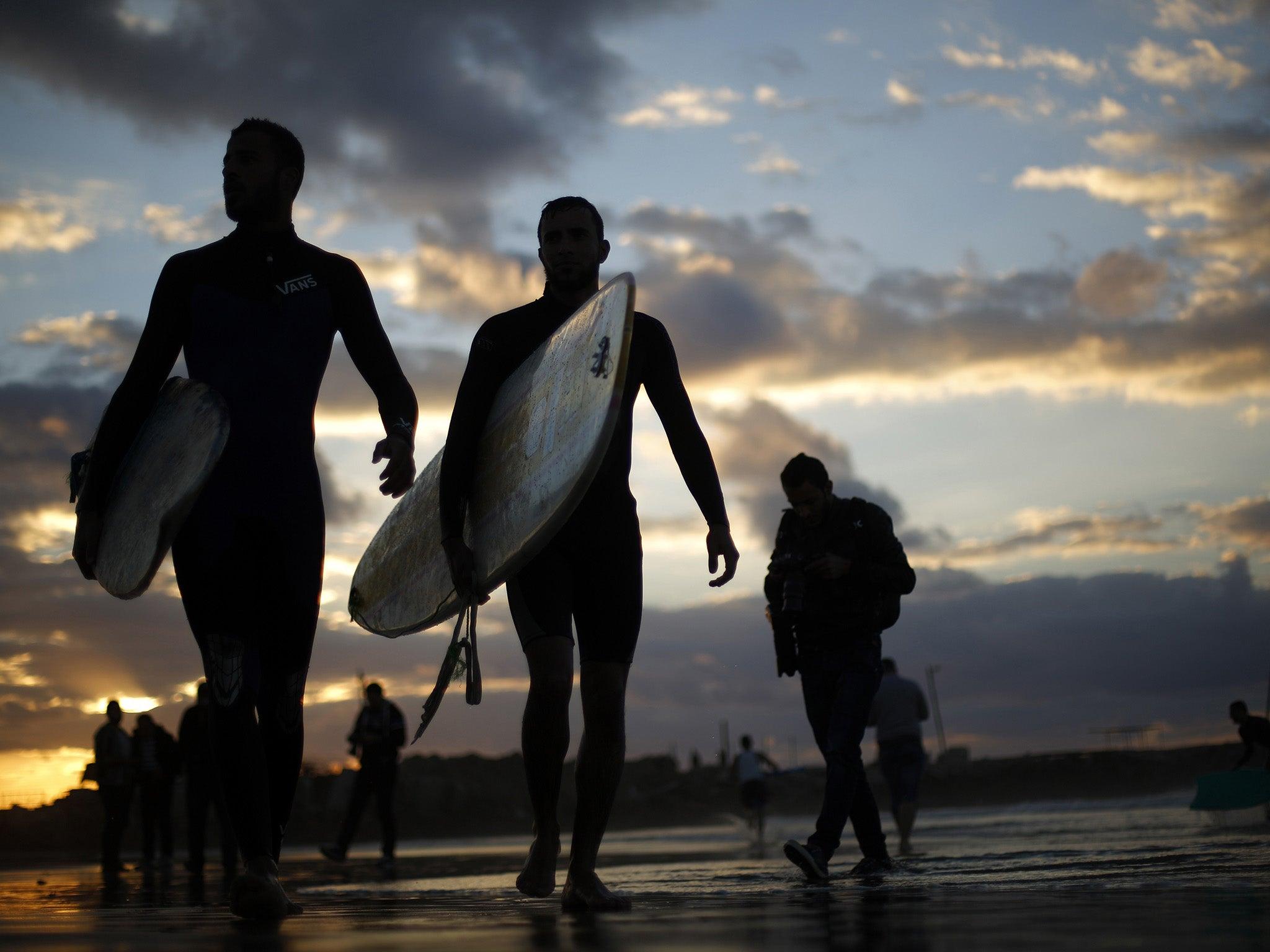 Gaza surf club trailer
