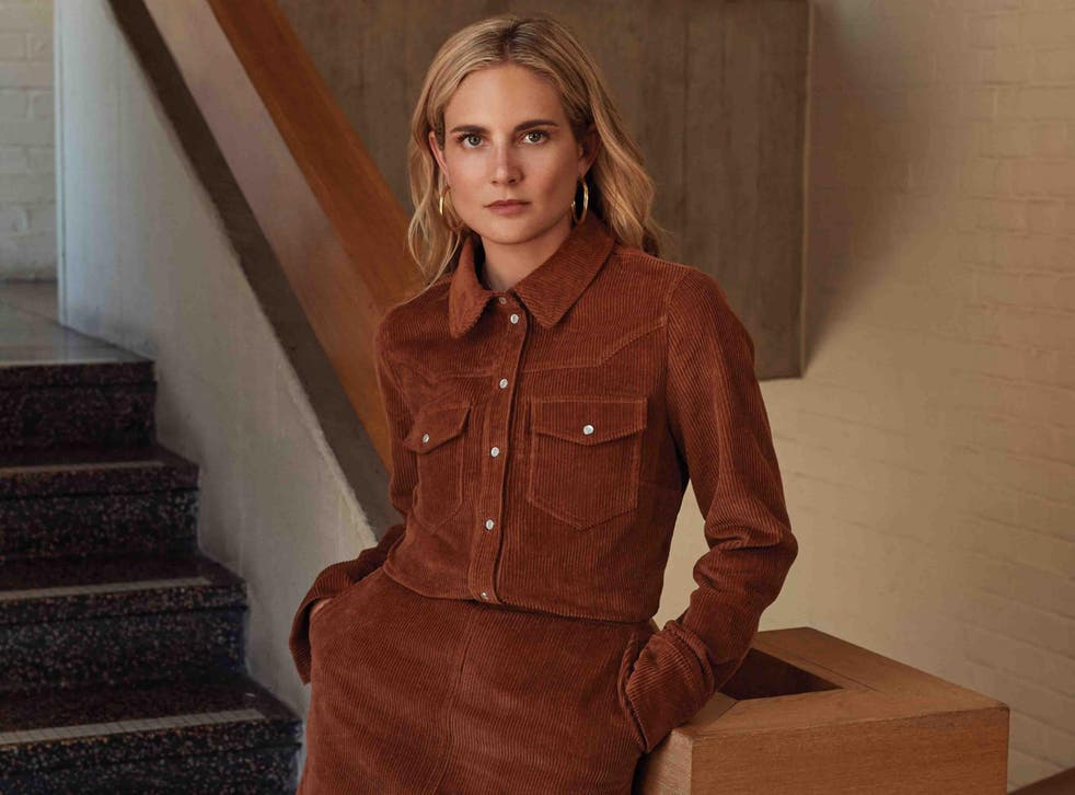 'Whether it's wearing leather with knitwear or corduroy with suede, I love mixing up textures and patterns for the winter,' says Williams
