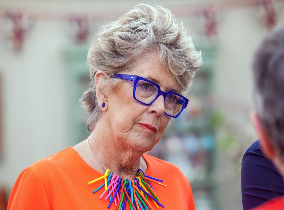 Prue Leith on The Great British Bake Off 2018