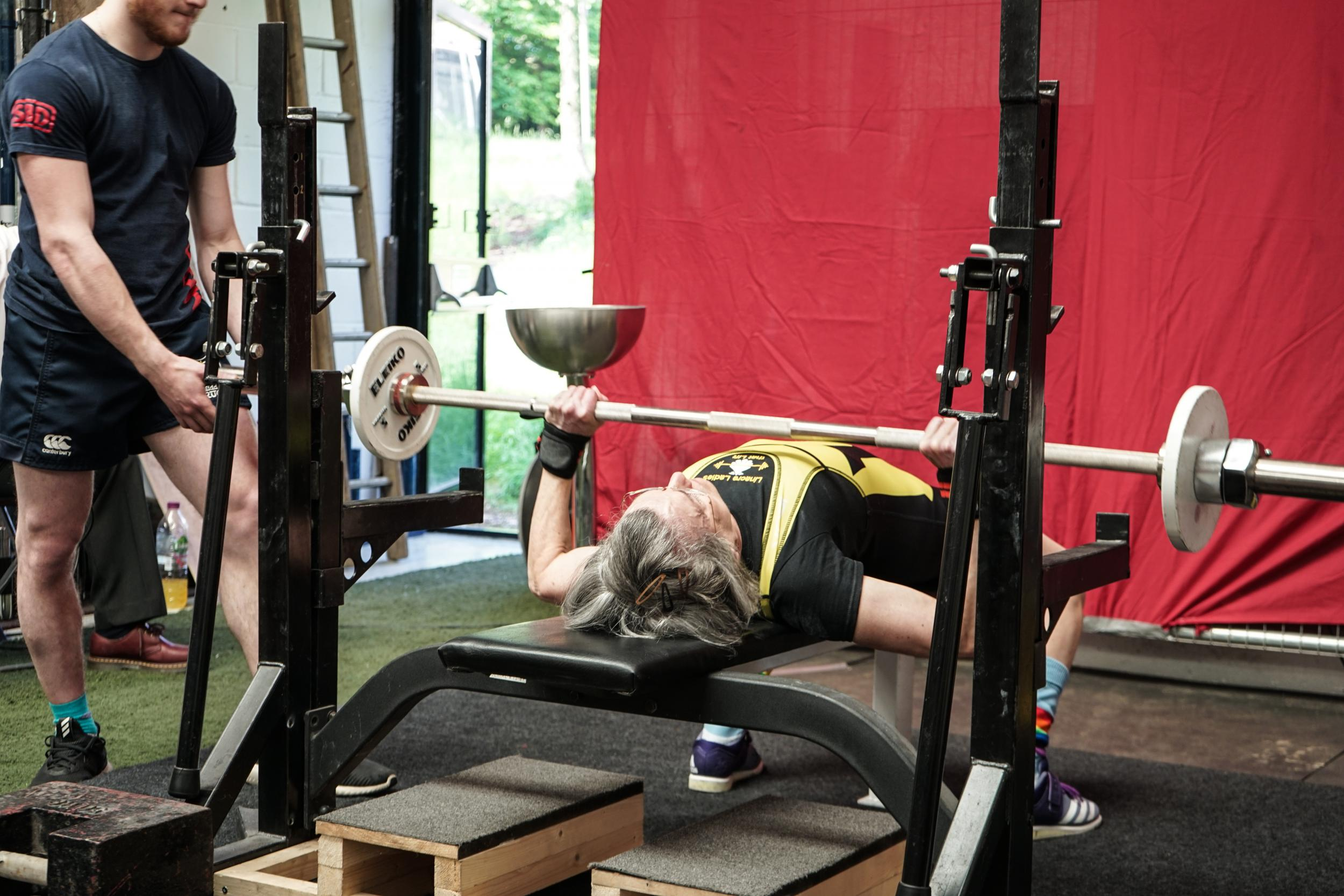 Meet the 71-year-old powerlifter encouraging other women to