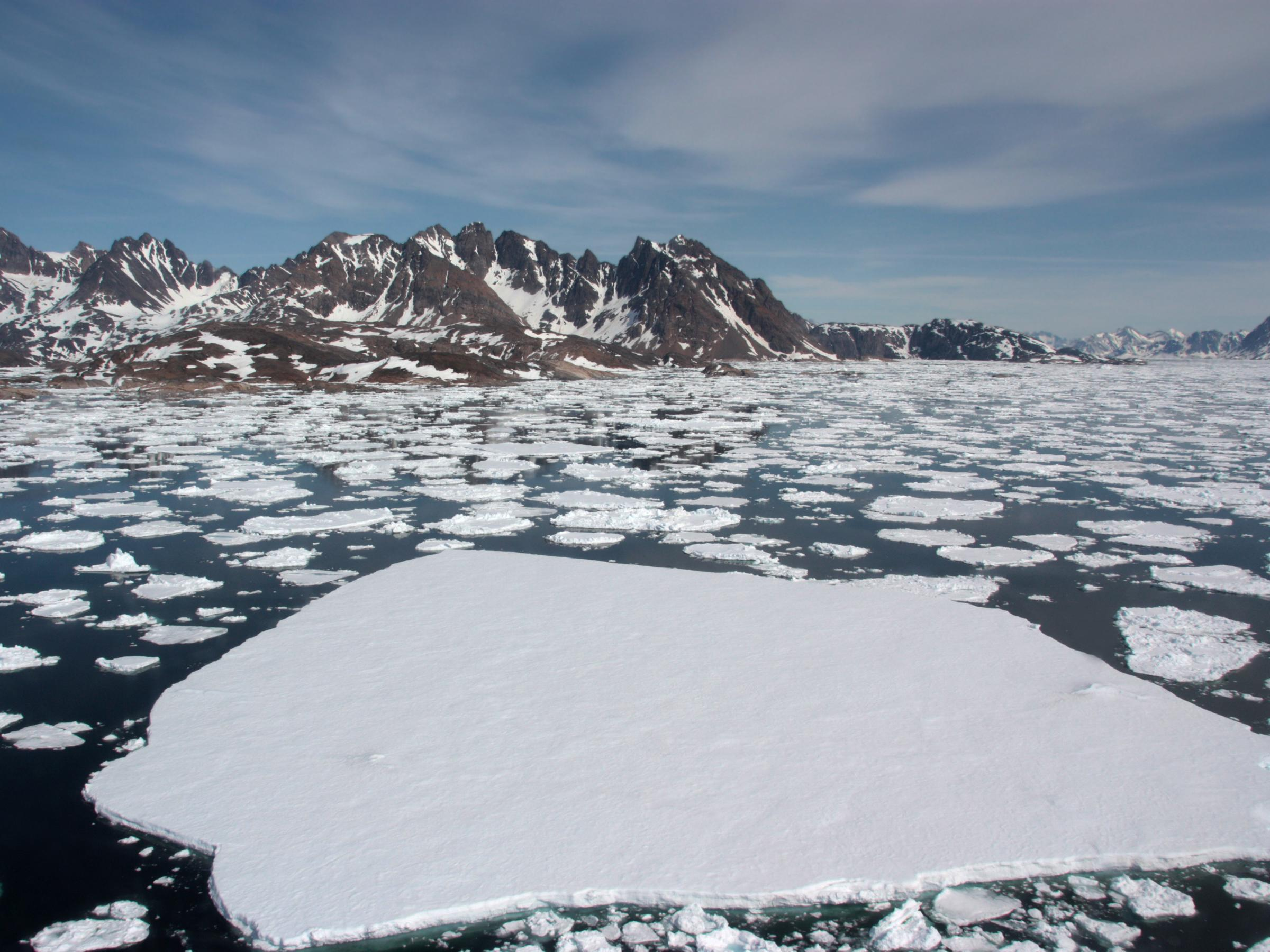 Scientists find pocket of warm water trapped under Arctic with potential to melt entire ice pack