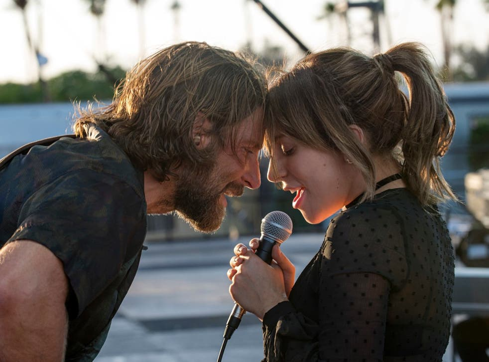 Cooper with Lady Gaga in 'A Star is Born'(AP)