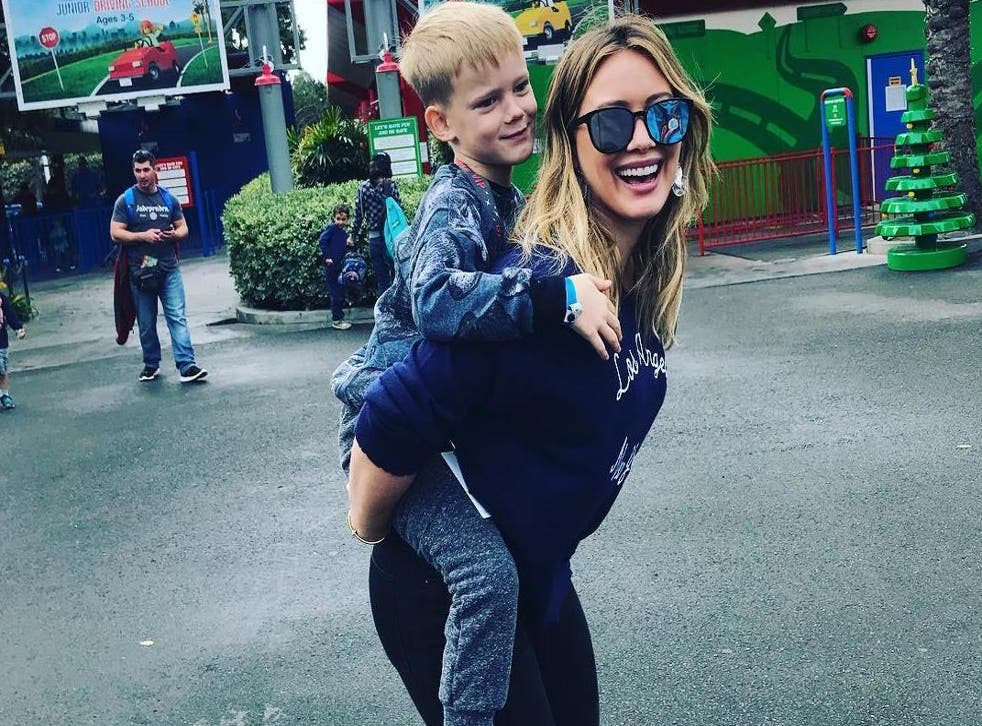 Hilary Duff says she's not interested in what mum-shamers have to say (Instagram)