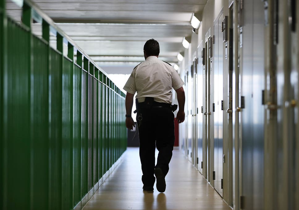 Two prison officers go to A&E every day following inmate