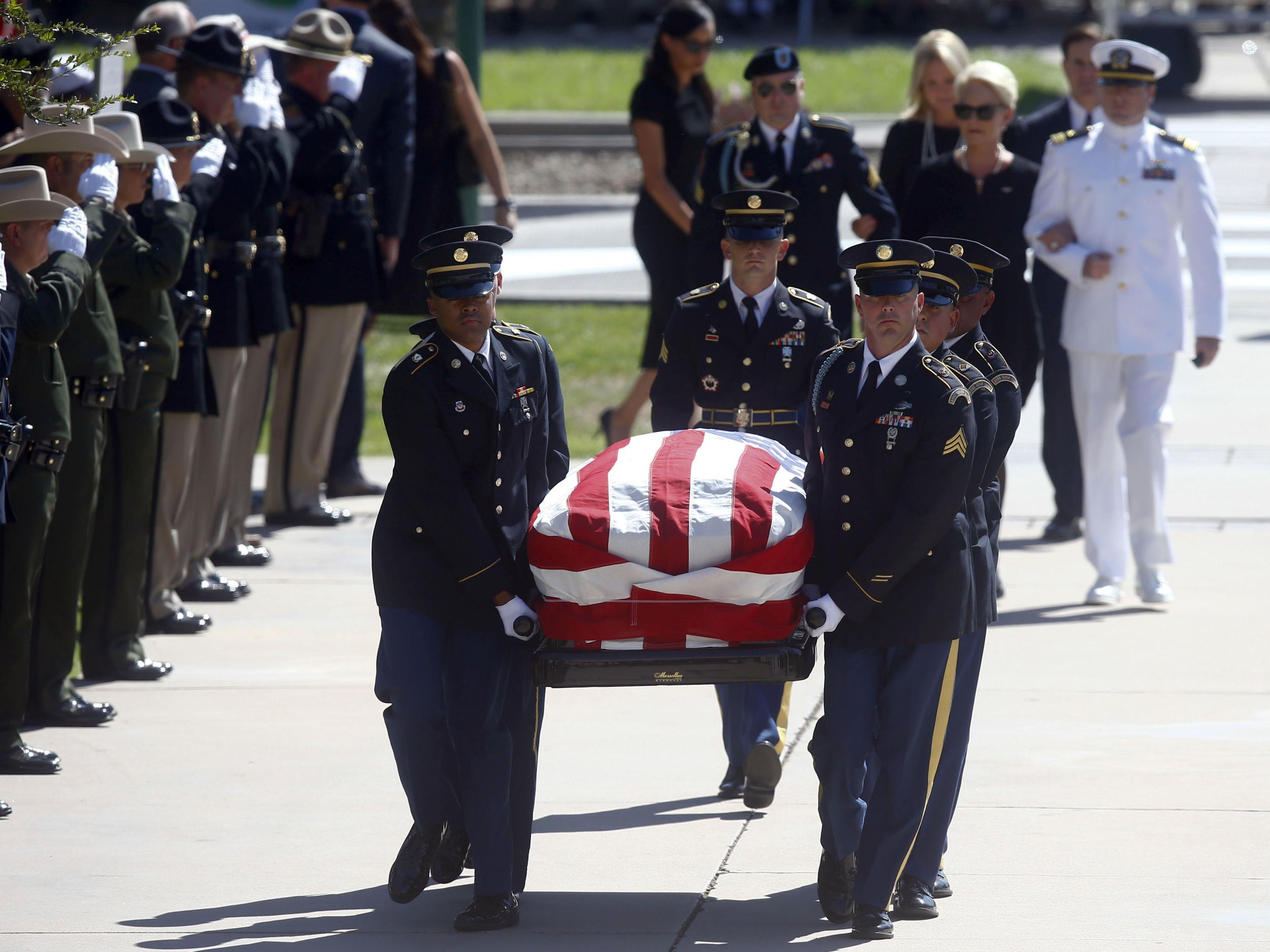 John Mccain Funeral Was Unmistakeable Rebuke To Donald Trump The