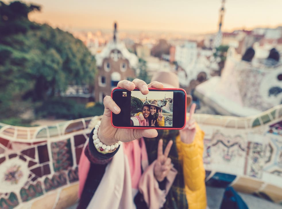 Selfies can leave a negative impact on a place